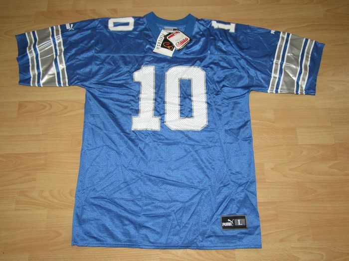 Charlie Batch Lions jersey