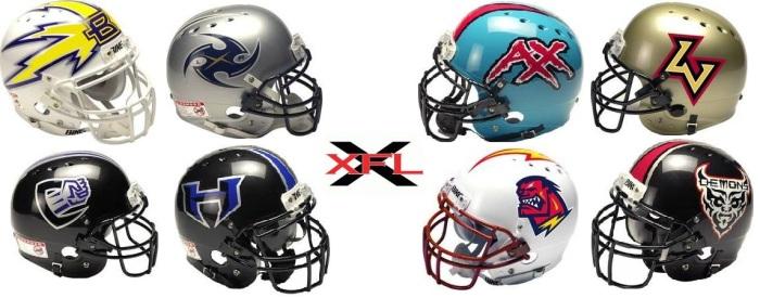 XFL Helmets