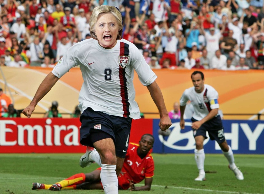 Hillary Clinton should have run for President…OF THE UNITED STATES SOCCER FEDERATION